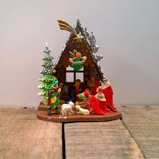 80 best vintage nativity images on nativity sets