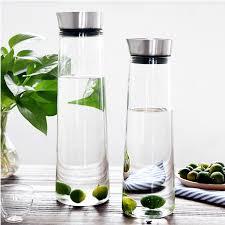 küche zubehör 1l 1 5l hohe qulaity heiß kalt wasserflasche glas saftflasche