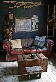 Incredible Leather Settee Sofa Better Housekeeper Blog All Things 68 Best Interiors With A Patina Of Age Images On Pinterest