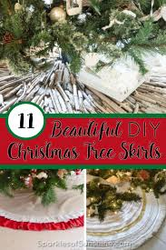 11 beautiful tree skirts you can make sparkles of
