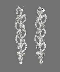chandelier wedding earrings bridal rhinestone earrings chandelier wedding jewelry