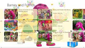 Barney And The Backyard Gang A Day At The Beach Barney U0026 Friends Fun Unlimited For Windows 8 And 8 1
