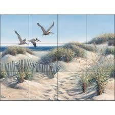 the tile mural store pelican trio 24 in x 18 in ceramic mural the tile mural store pelican trio 24 in x 18 in ceramic mural wall