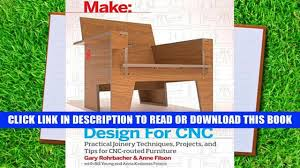 pdf full design for cnc furniture projects and fabrication