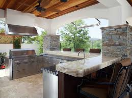 beautiful outdoor kitchen on a budget taste