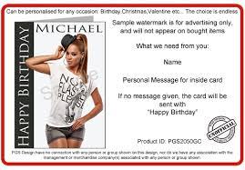 beyonce birthday card u2013 gangcraft net