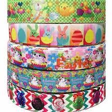 bulk grosgrain ribbon grosgrain ribbon 7 8 easter 5 yard mixed lot l8 wholesale bulk