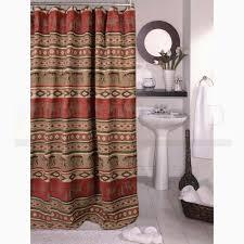 Lodge Shower Curtains Sunland Home Decor Jb 1104 Adirondack Lodge Shower Curtain