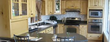 Countertop Cabinet Bathroom Waterville Maine Custom Kitchens Inc Kitchen Cabinets Bathroom