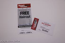 6 free haircuts for men item g1280 sold august 15 bay