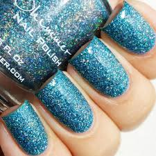 holographic glitter kbshimmer set in holographic glitter nail