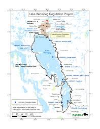Map Of Winnipeg Canada by Lake Winnipeg History