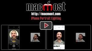 Portrait Lighting Iphone Portrait Lighting U2013 Macmost