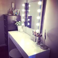 Ikea Malm Vanity Table Vanity Mirror Desk With Lights U2013 Damienlovegrove Com