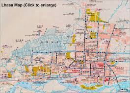 Map Of Pennsylvania Cities by Tibet Lhasa Maps City Map With Hotels Attractions Streets