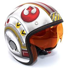 hjc motocross helmet hjc is 5 x wing fighter pilot star wars open face helmet flat