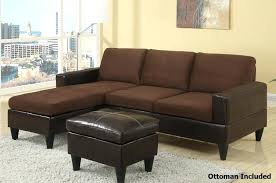 venezia leather sectional and ottoman furniture classic brown leather sectional tufted couch with leather