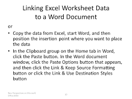 objectives learn about object linking and embedding ole embed an