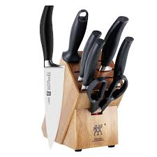 amazon com zwilling j a henckels five star 8 piece knife block