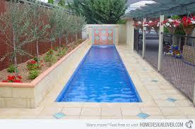 Average Backyard Pool Size 15 Fascinating Lap Pool Designs Home Design Lover