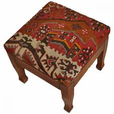 furniture leather ottoman coffee table with storage small