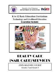 k to 12 nail care learning module nail anatomy personal