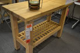 kitchen butcher block island ikea kitchen with groland work island from ikea we are now big fans