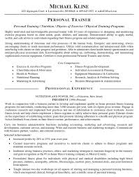 Sample Resume Personal Trainer by Personal Trainer Resume Top 25 Best Resume Examples Ideas On