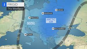 Prague Map Europe by Arctic Outbreak To Grip Eastern Europe Into Next Week