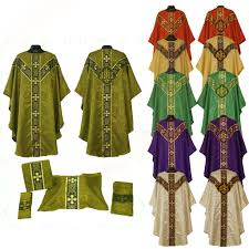 chalice veil vestment mass set chalice veil maniple burse stole