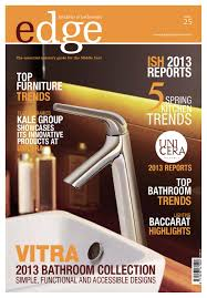 edge kitchen u0026 bathroom magazine issue 25 by amed issuu