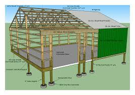 free a frame house plans modern cutaway 3 1 menards post frame building plans metal house