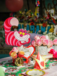 alice in wonderland birthday party decorations ideas romantic