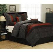 Black And White King Bedding Black Comforters