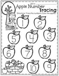 march preschool worksheets tracing worksheets worksheets and apples