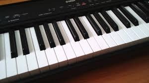 how to replace keys on yamaha p80 digital pianos youtube