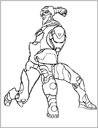 iron man coloring page 3625