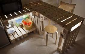 diy kitchen furniture diy pallet furniture ideas 40 projects that you t seen