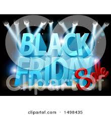 black friday computer mouse clipart of a black friday sale arrow marquee sign in a shopping