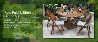 Wooden Outdoor Patio Furniture by Teak Eucalyptus Wood Outdoor Furniture Torches Planters