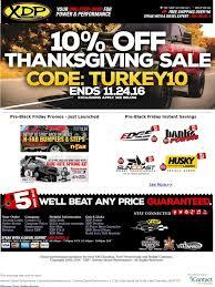 xtreme diesel performance xdp happy thanksgiving pre black