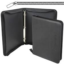 photo album 3 ring binder bcw black collectible gaming card 3 ring leatherette z binder lx