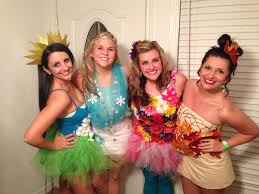 halloween college party ideas four seasons group halloween costume another take on it i call