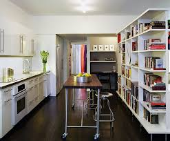 Kitchen Island With Bookshelf Kitchen Island On Casters Mobile Wonders Roll With Each Other