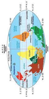 map of equator map equator tropic of cancer tropic of capricorn prime