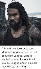 a brand new look at jason momoa u0027s aquaman on the set of justice