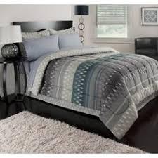 Jets Bedding Set Tribal Chevron Wild Bedding Comforter Set Funky Look Grey Mint
