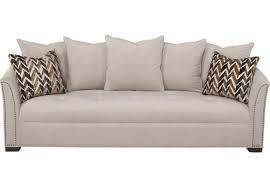sofia vergara mandalay charcoal sofa sofia vergara leather sofa lr sof 10115257 mandalay stone sofia