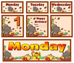 thanksgiving bulletin board displays and puzzles for november