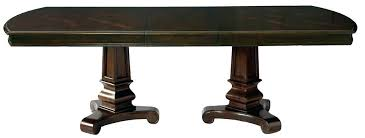 pacific canyon dining table top and double pedestal dining table